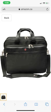 Swiss laptop bag Calgary, T2Z 0P2