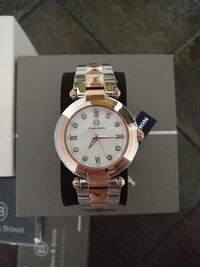 NEW Ben & Sons Cabochon Cairo Women's Rose Gold/Silver Watch Toronto