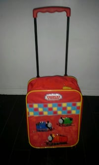 red and black Little Tikes trolley bag Waterloo