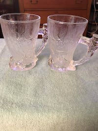 two clear glass mugs Olney, 20832