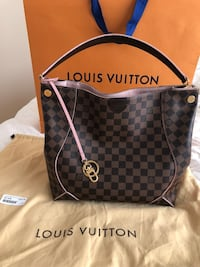 Louis Vuitton Caissa Hobo bag reg. $2,490 *mint LV Calgary, T2T 6G4