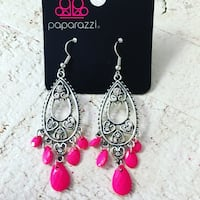 pair of silver-colored hook earrings Ashburn, 20148