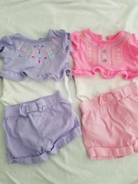 2 baby girl outfit  Metairie