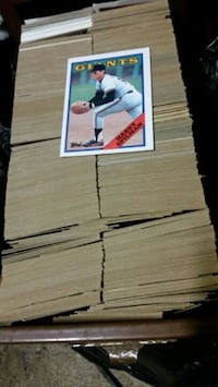 Baseball cards.  Manassas, 20112