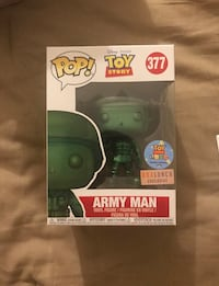 Pop! Toy Story 377 Army Man vinyl figure box Palm Desert, 92260