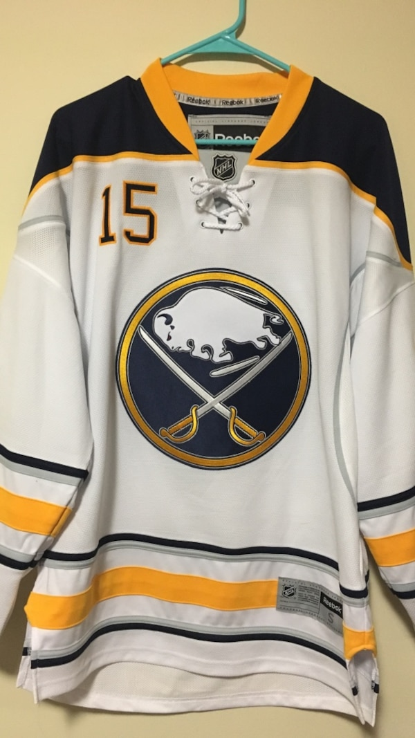 the latest 63390 e3151 Used Buffalo Sabres- Jack Eichel jersey for sale in ...