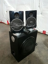 black edifier multimedia speakers West Kelowna, V4T 2P6