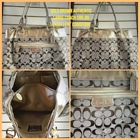 brown and black leather tote bag Bakersfield, 93301