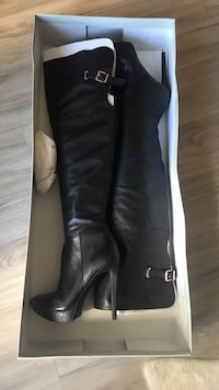 New Jessica Simpson black leather boots retails at $265 Dallas, 75201
