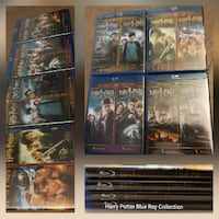 Harry Potter series complete set Blu ray movies VANCOUVER