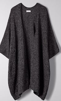ARITZIA COMMUNITY ICONIC CAPE in Black Burnaby
