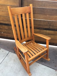 wooden rocking chair  Los Angeles, 90045
