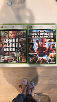 Xbox 360 game - grand theft auto & marvel ultimate alliance New York, 11101