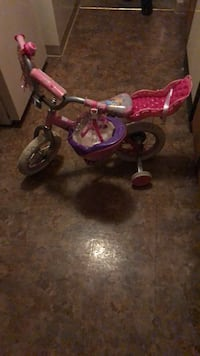 toddler's pink and white trike Upper Marlboro, 20774