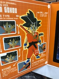 Kid Goku dragon Ball z Los Angeles
