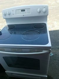 white and black induction range oven Temple Hills, 20748