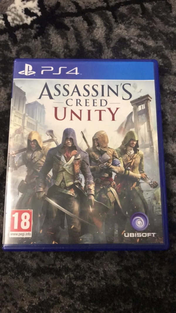 Assassin's Creed Unity PS4 spelväska