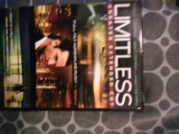 Limitless DVD case