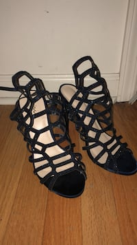 Prom shoes Size 7 Navy blue sparkly Edison, 08820