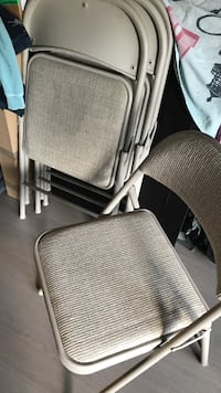 Chairs - brand new comfortable folding chairs 219 mi