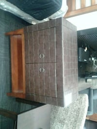 Leather Accent Chest Norfolk, 23502
