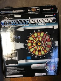 black and red dartboard with box Sacramento, 95822