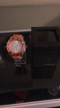 Kyboe Giant 55 Orange Watch (never worn) Highland, 92346