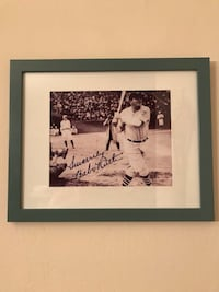 Babe Ruth Autographed Framed 8/10 picture  Santa Fe, 87507