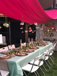 Bridal shower setup  Toronto