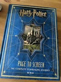 Harry Potter page to screen Calgary, T2P 2B5