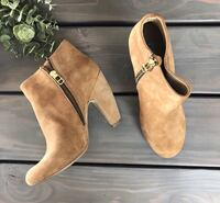 Steve Madden Taupe Booties Franklin, 53132