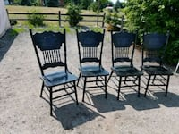 4 Dining room antique chairs Perry, 48872