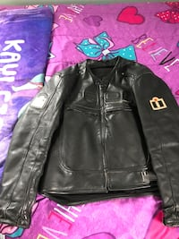 Men's Icon Black leather motorcycle Jacket