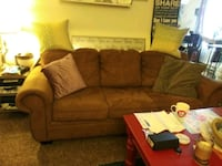 Long full size hidabed couch, good condition Dallas, 97338