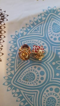 embellished Ruby gold jewelries