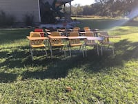 12- gently used school student desk combos Lake City, 32055