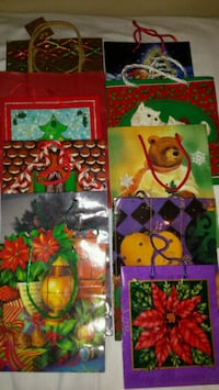 $15 44 pieces of gift bags boxes & large bike bags Maryville, 62062