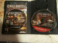 Cod 2 big red one SE, and cod 3 Playstation 2 Pelican Rapids, 56572