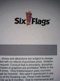 Six flags Baltimore, 21228