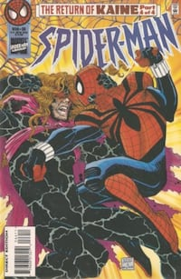 Spider-man #66 (The Return of Kaine Part 4 of 4) Vol. 1 March 1996 Montréal, H1R 2E6