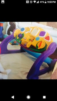 Baby's multicolored activity table London, N6H 0B2