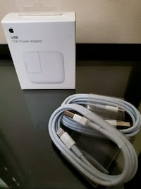 Apple Lightning to USB cable and charger Richmond, V6X 3E3