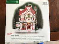 LIKE NEW - North Pole Series - Village - Barbie Boutique with Lights Whitby