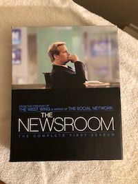 The Newsroom - Complete First Season DVD set Edmonton
