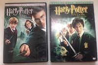 two Harry Potter DVD cases Columbus