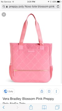 women's pink leather tote bag Greenville, 29609