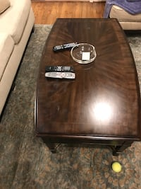 Rectangular black wooden coffee table Houston, 77007