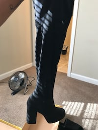 DSW thigh high boots Greensboro, 27401