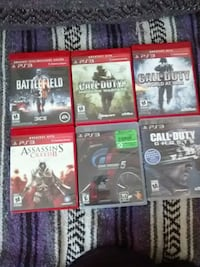 six assorted Xbox 360 game cases Odessa, K0H 2H0