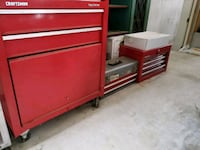red and gray tool chest (all 3) with tools Severn, 21144